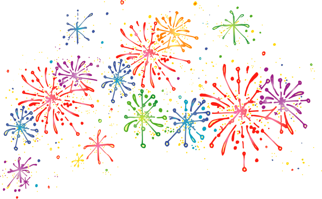 how to draw fireworks on black paper